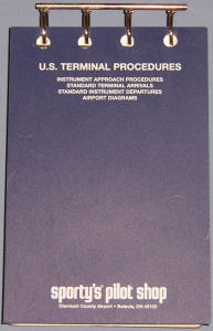 Vinyl Binder for FAA Approach Charts